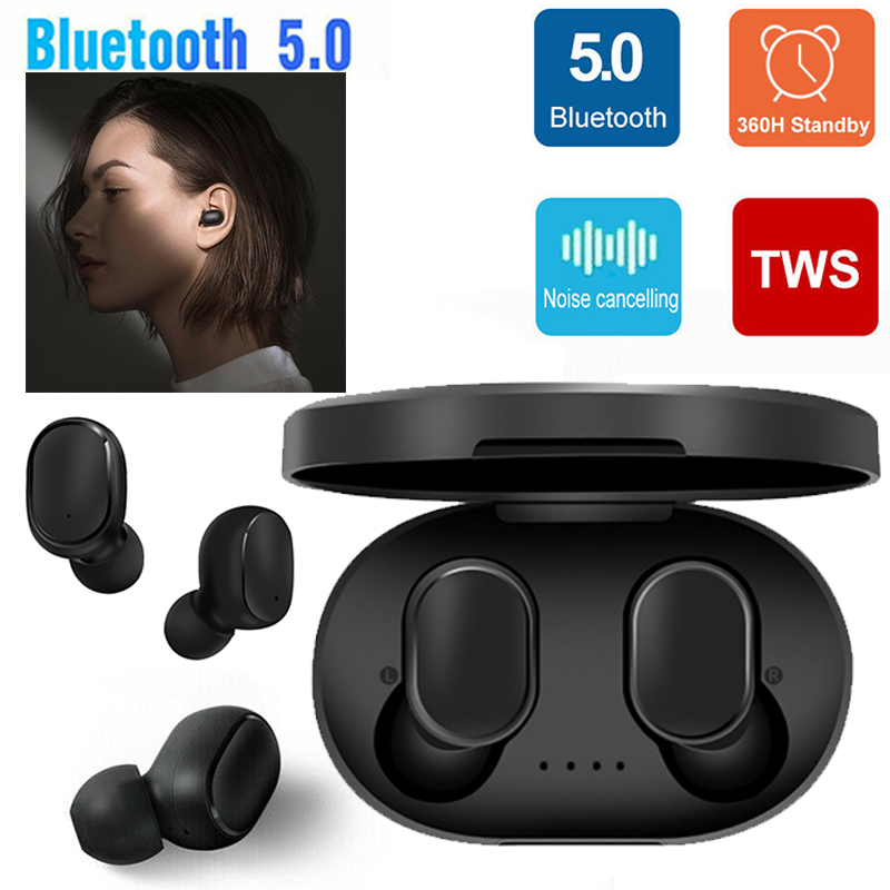 Bluetooth 5 0 Headset Tws Wireless Earphones In Ear Earbuds Stereo Headphones Ebay
