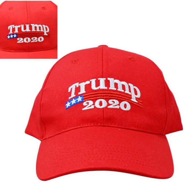 Trump 2020 President Make America Great Again MAGA Baseball Cap Hat RED hi