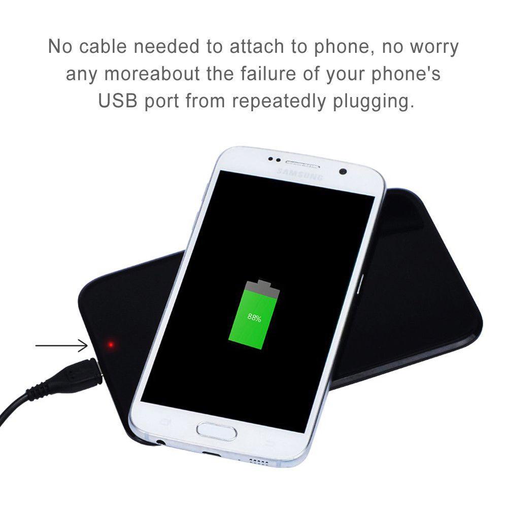iphone x 8 8 plus schnelles qi kabelloses ladeger t lade. Black Bedroom Furniture Sets. Home Design Ideas