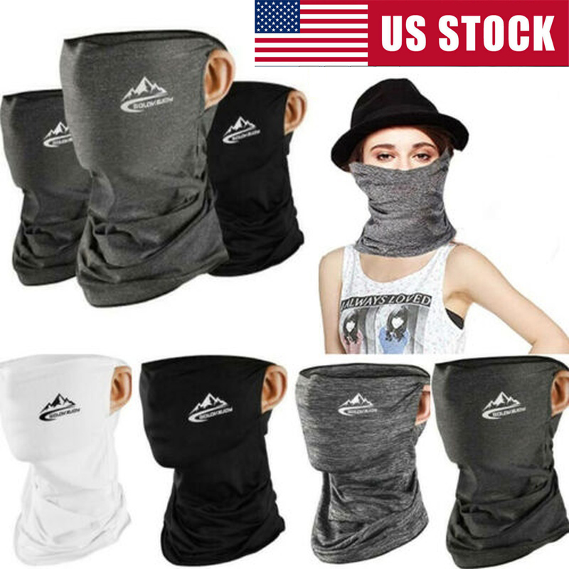 CPAing Cooling Neck Gaiter Balaclava Bandana Headwear Ice Silk Face Cover Summer Scarf for Fishing Hiking Camping Outdoors Headwrap