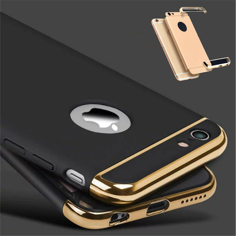 f8b37ae74b6b92 Details about Luxury Ultra-thin Shockproof Hybrid 360 Case Cover for Apple  iPhone 8 7 6S Plus