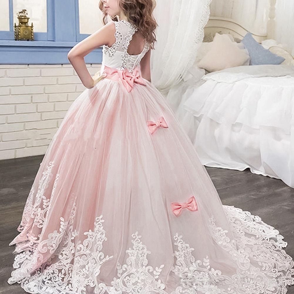 blumenmädchen Mädchen Kleid hochzeit prinzessin Kinder festkleid ...