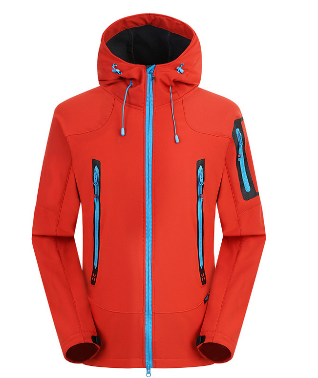Men-039-S-Softshell-Waterproof-Windproof-Jacket-Hiking-Sport-Fleece-Jackets-M-3XL