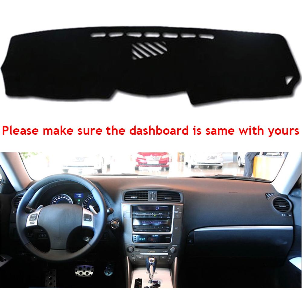Gray Carpet Dash Cover Compatible w// 2001-2006 Lexus IS LE55-0