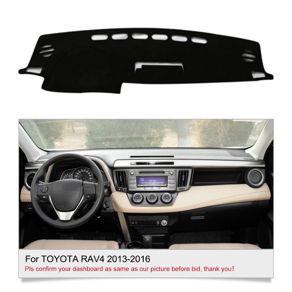 For Toyota Rav4 2013 2016 Dashboard Cover Dashmat Carpet