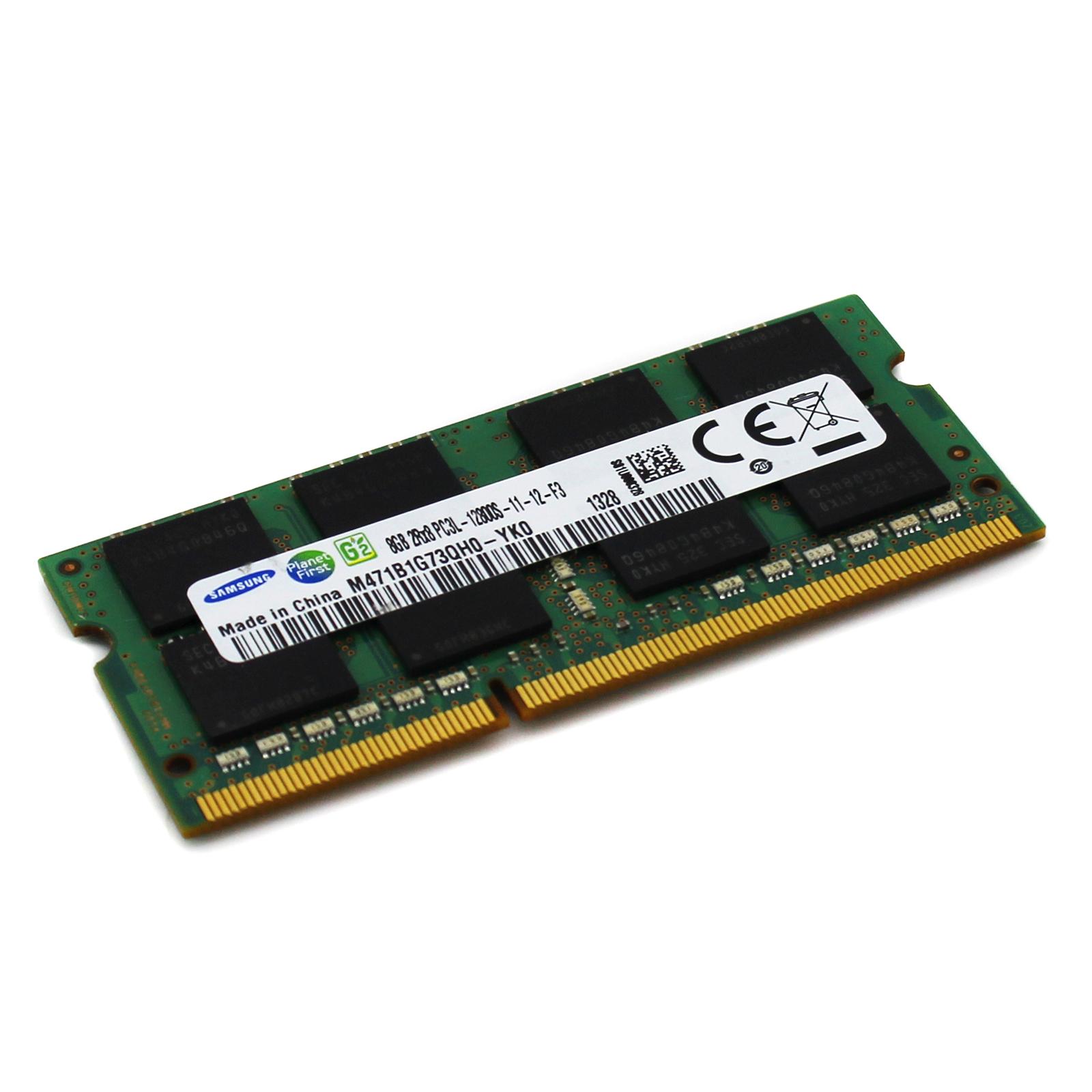 For Samsung 8GB 2Rx8 PC3L S 1600MHz DDR3 M471B1G73QHO Laptop Memory RAM