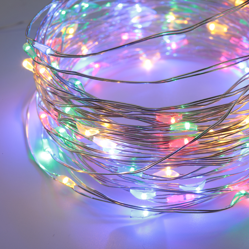 50led 17ft Usb Powered Multi Color Changing String Fairy