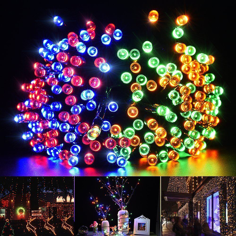 1-50M LED Battery//Solar Fairy String Light Outdoor Wedding Christmas Party Lamp