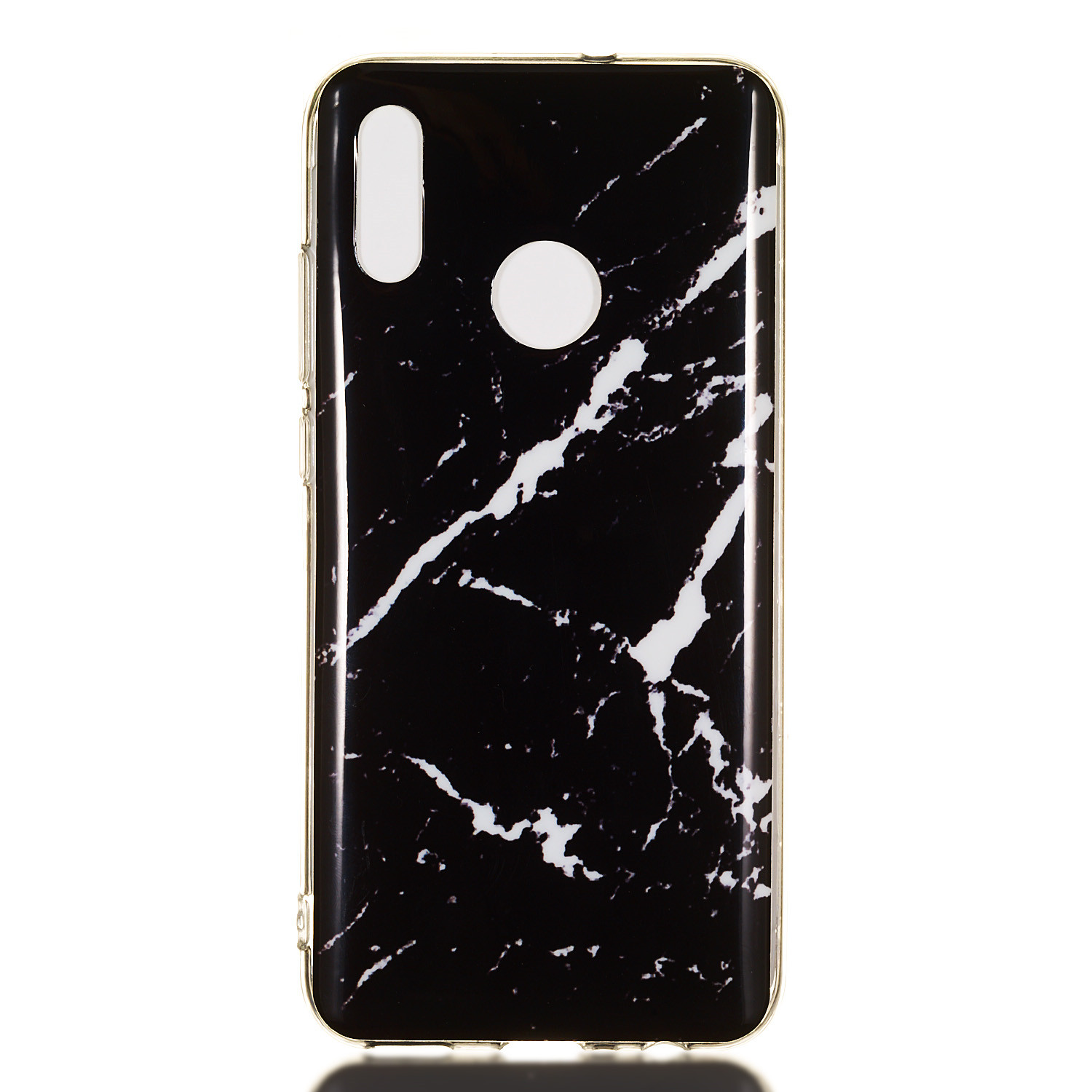 Imd Marble Design Soft Gel Tpu Case Phone Cover For Huawei