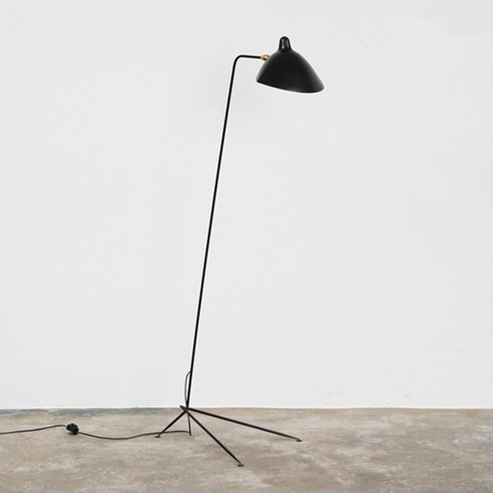 Three arm floor lamp standing lamp office reproduction of serge three arm floor lamp standing lamp office reproduction of serge mouille 210cm arubaitofo Images