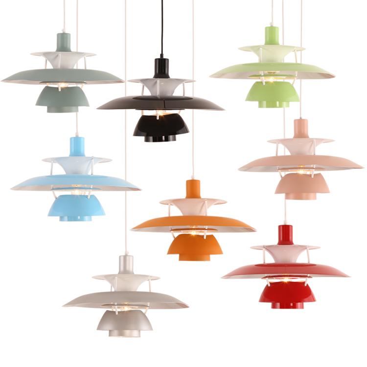 Modern E27 Pendant Lamp Louis Poulsen Chandeliers Ceiling Light Hanging Light