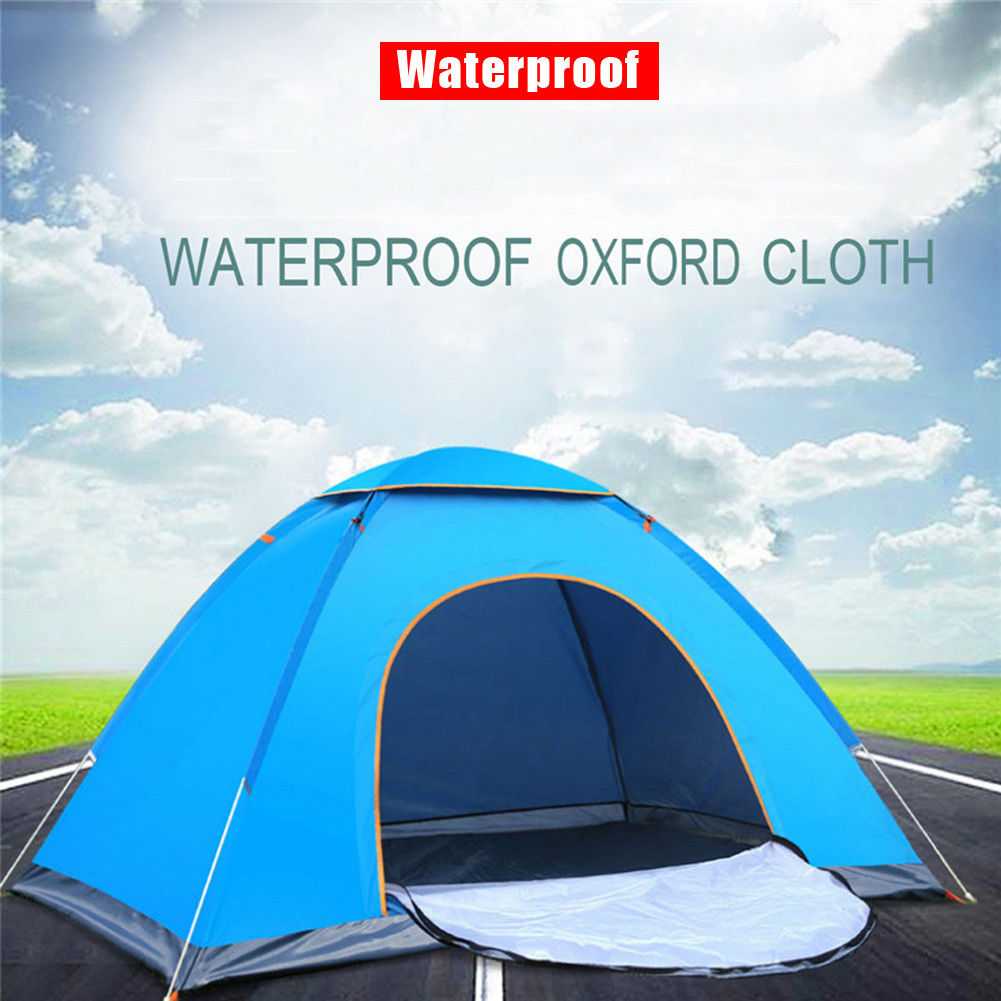 Instant Automatic Pop Up Waterproof Portable Tent Camping Beach Outdoor Shelter