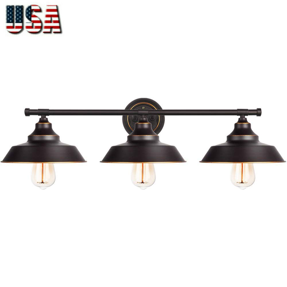 Bathroom Vanity Light 3 Light Wall Sconce Industrial Kitchen Wall Lighting Ebay