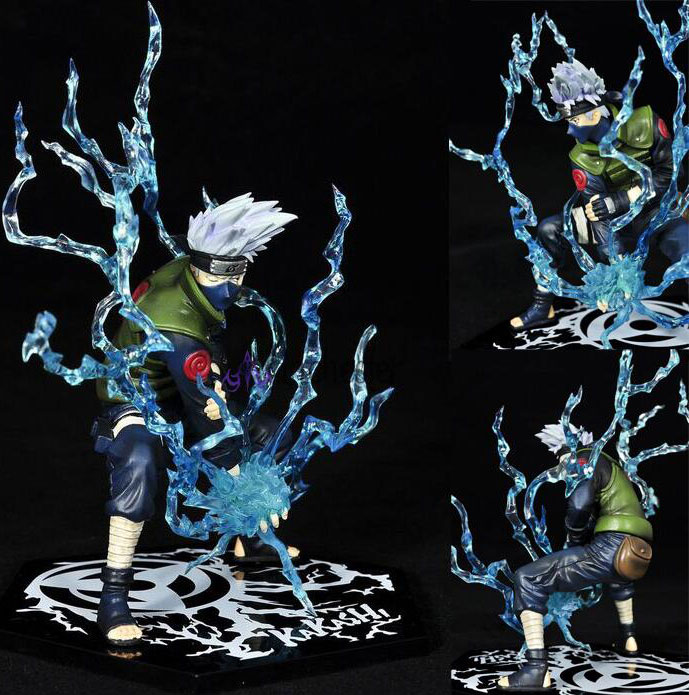 HOT Naruto Toynami Hatake Kakashi  PVC Blade  Figure Figurine Collection
