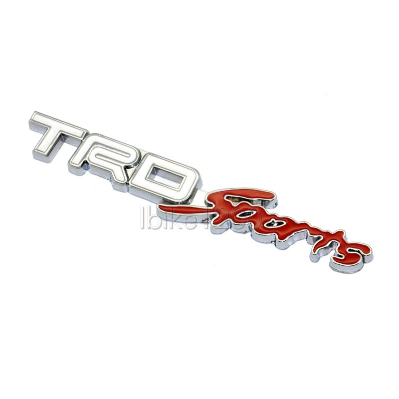 3d trd sports racing badge emblem for toyota corolla camry rav4 supra mr2 yaris