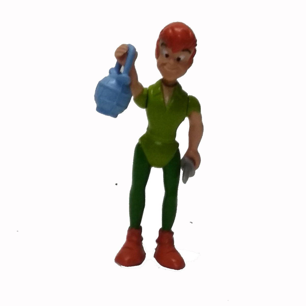 """2.5/"""" DISNEY PETER PAN PVC FIGURE ANIMATED CARTOON Toy with Sword Accessories"""
