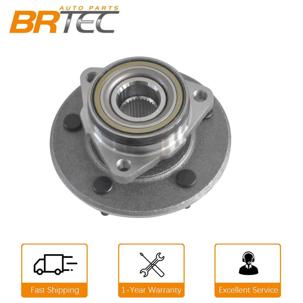 2005 For Dodge Dakota Front Wheel Bearing and Hub Assembly x 1 Note: 4-Wheel ABS