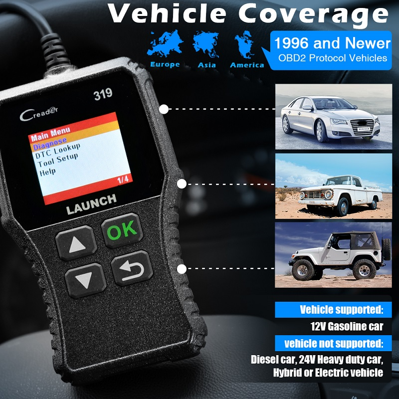 Details about Automotive Scanner OBD2 Diagnostic Tool DPF BMS EPB Oil Reset  IMMO ABS Bleeding