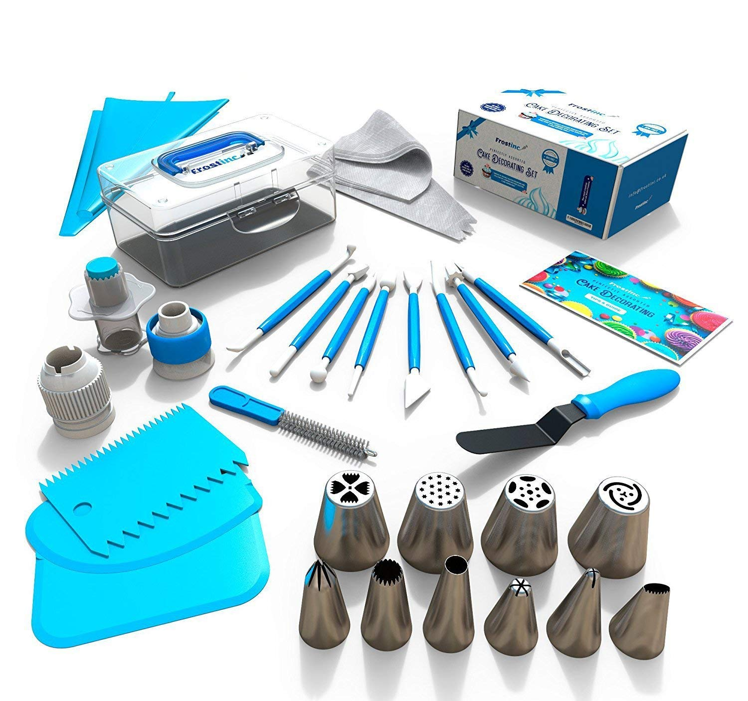 34pcs Cake Cupcake Decorating Tool Professional Supply DIY ...