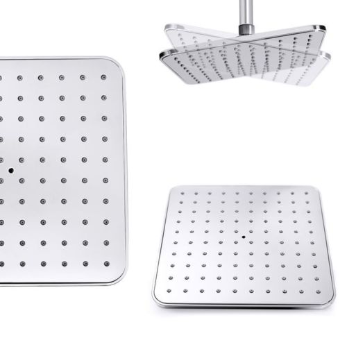 thermostat duschsystem regendusche duschset mit handbrause overhead chrom ebay. Black Bedroom Furniture Sets. Home Design Ideas