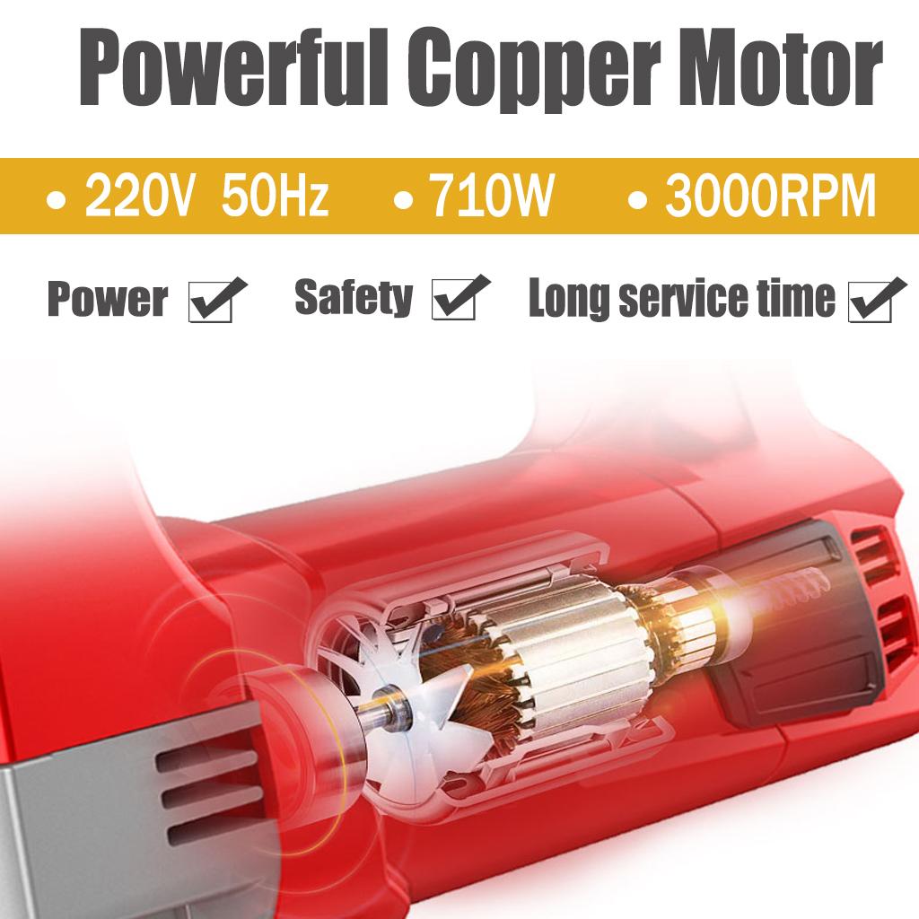 Electric Power 800W Schwerlast Pendel Schneiden Jigsaw-variable Geschwindigkeit
