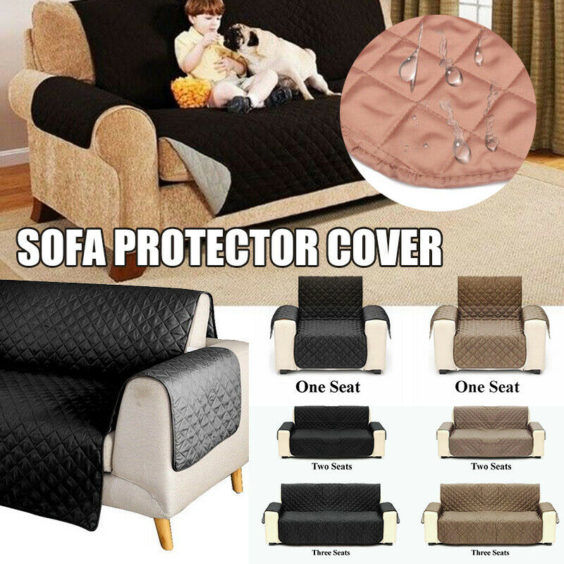 Awesome Details About Sofa Cover Reversible Furniture Protector Slipcover Water Resistant Couch Pet Machost Co Dining Chair Design Ideas Machostcouk