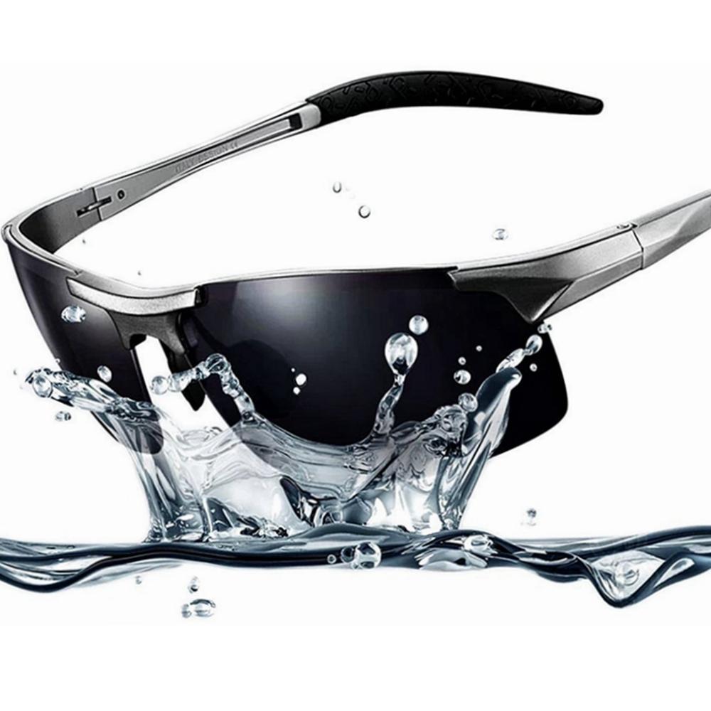 Sonnenbrille UV400 Polarized Sport Outdoor metal Rahmen Herr ...