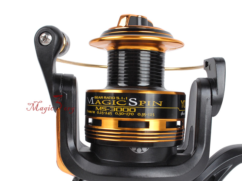 Fishing Spinning Reel 10BB 5.1:1 Al Spool Ultra Light Ice High speed Bass Carp