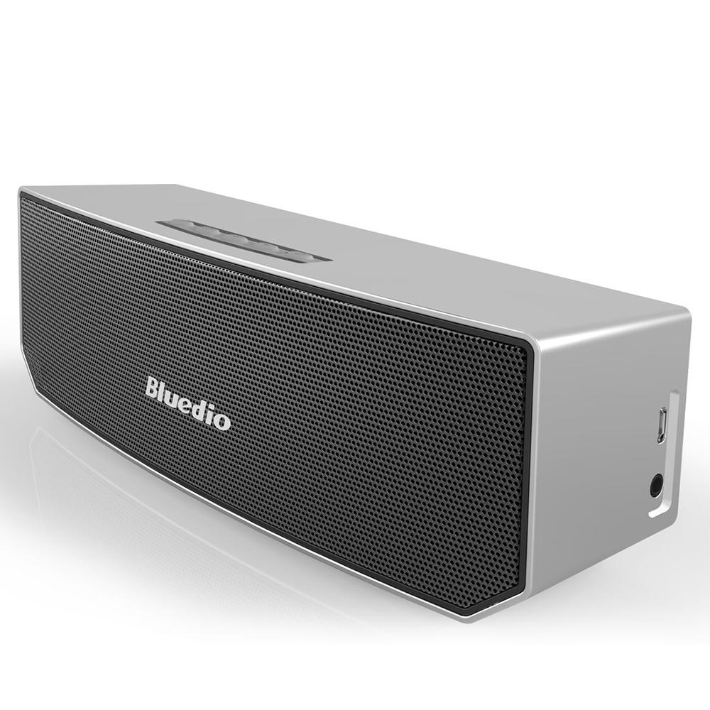 Bluedio BS-3 Bluetooth 4.1 Wireless / Wired 3D Sound Subwoofer ...