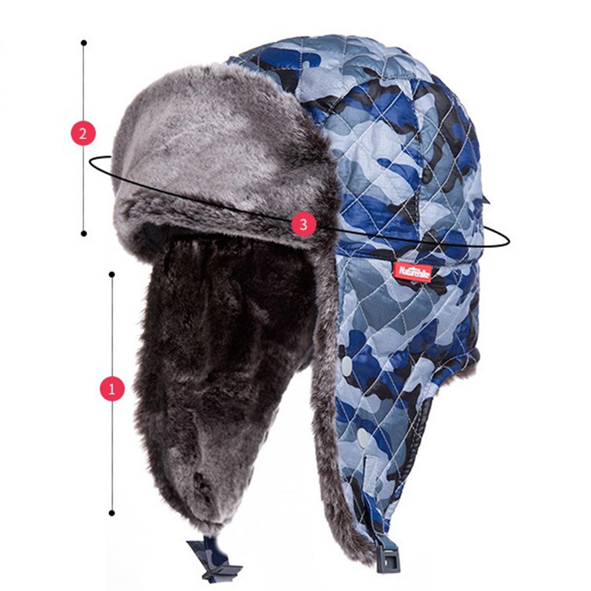 5778d9b4eeb Warm Hiking Hat Winter Outdoor Camping Travel Cap Unisex Aviator Ear Flap  Hats