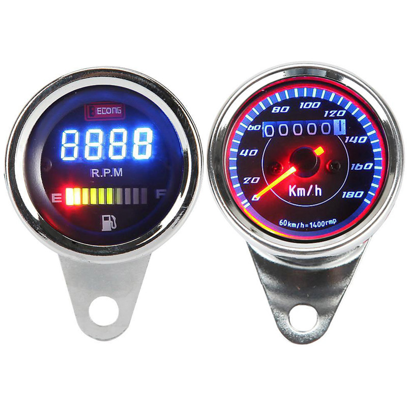 Universal Fits For Most Chopper Bobber Cruiser Cafe Racer: Honda Shadow Vt700 Tachometer Wiring At Executivepassage.co