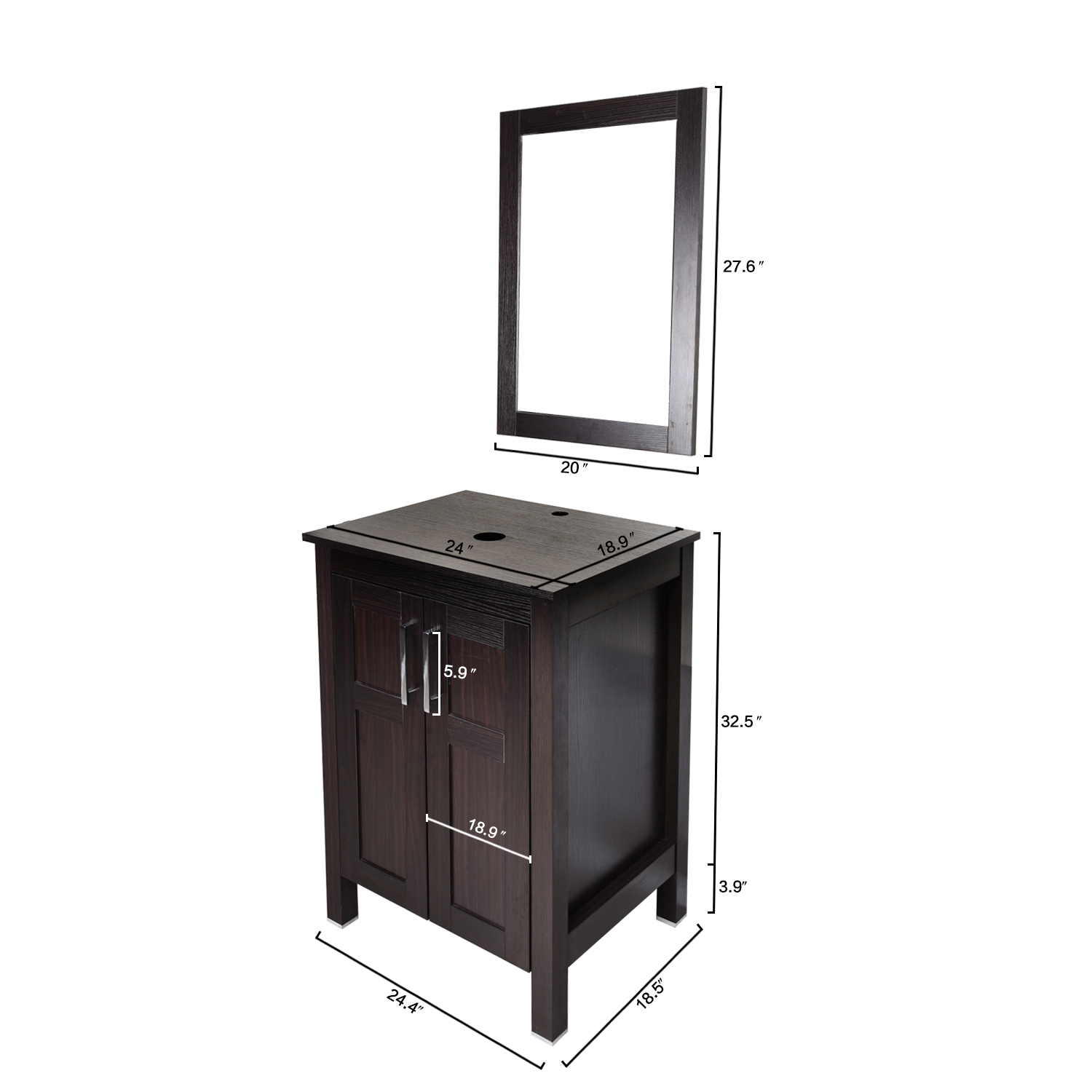 Bathroom Vanity Cabinet 24