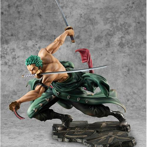 One Piece Anime Figure Roronoa Zoro Three-blade Sa-maximum Ver PVC Figure N B