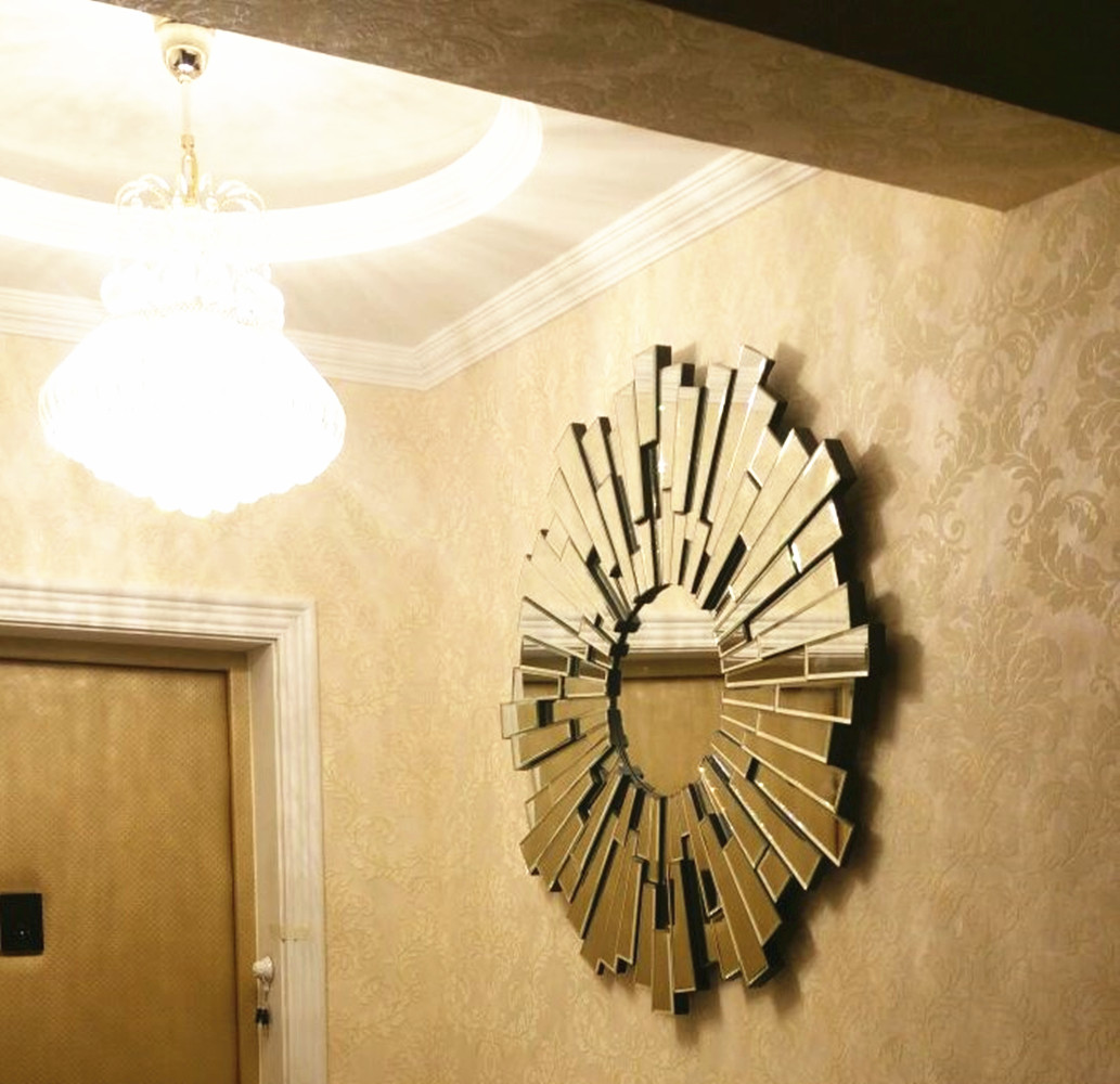 Famous Sunburst Wall Mirrors Decorative Pattern - Wall Art ...