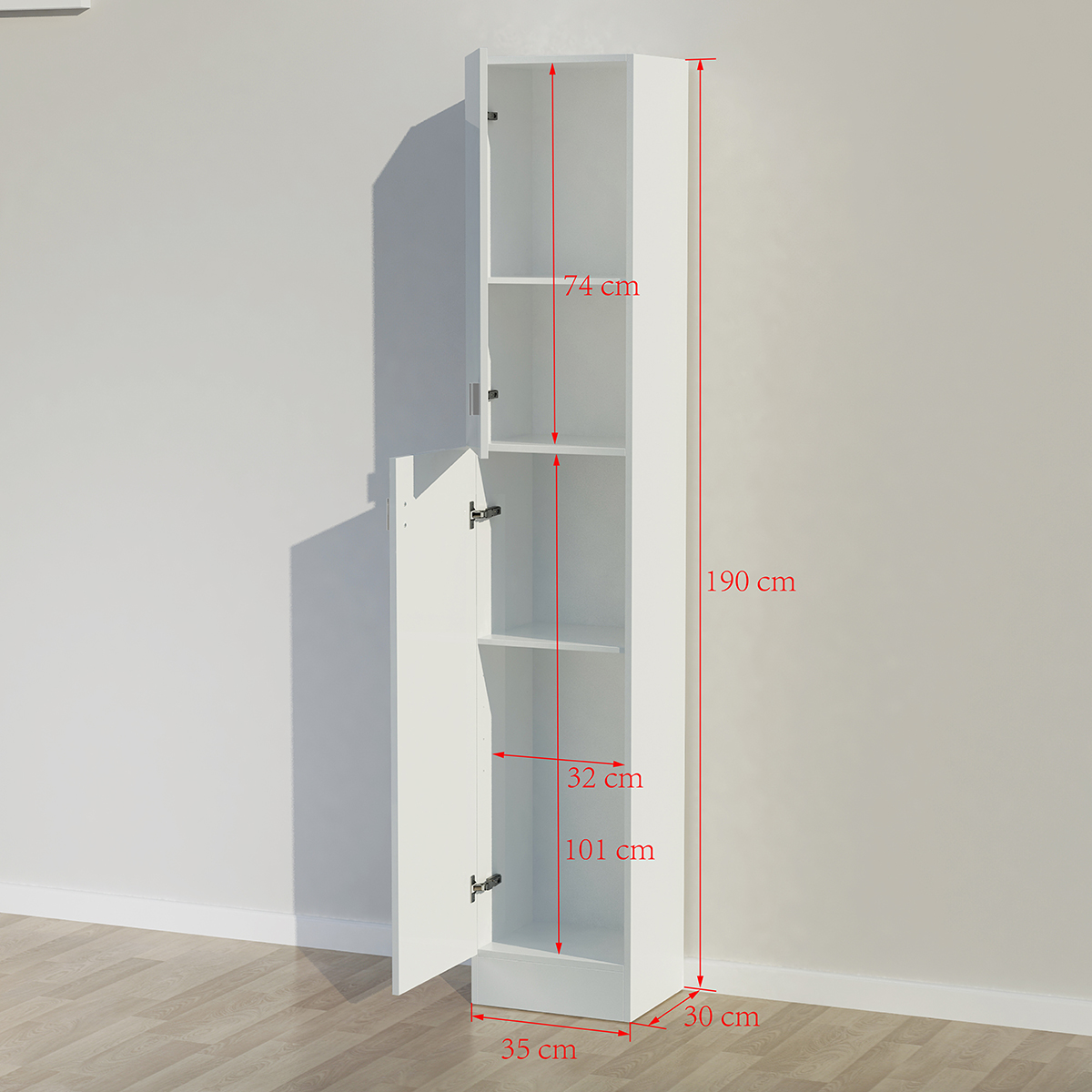 Slim Tall Bathroom Cabinet - bathroom ideas ~ chronosynchro.net