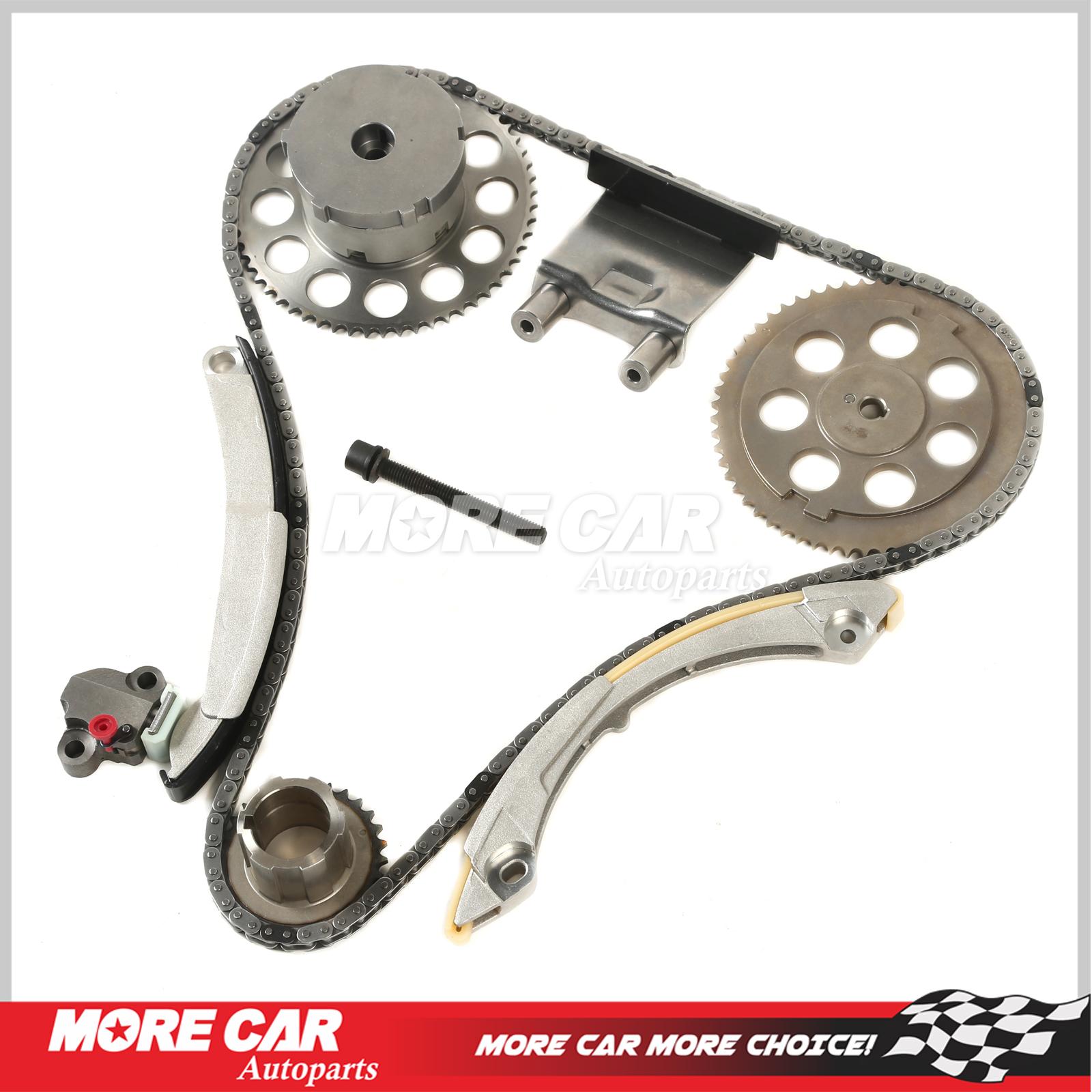 Timing Chain Kit W Vvt Fit 06 07 Buick Chevrolet Gmc Isuzu L6 42l Belt Dohc