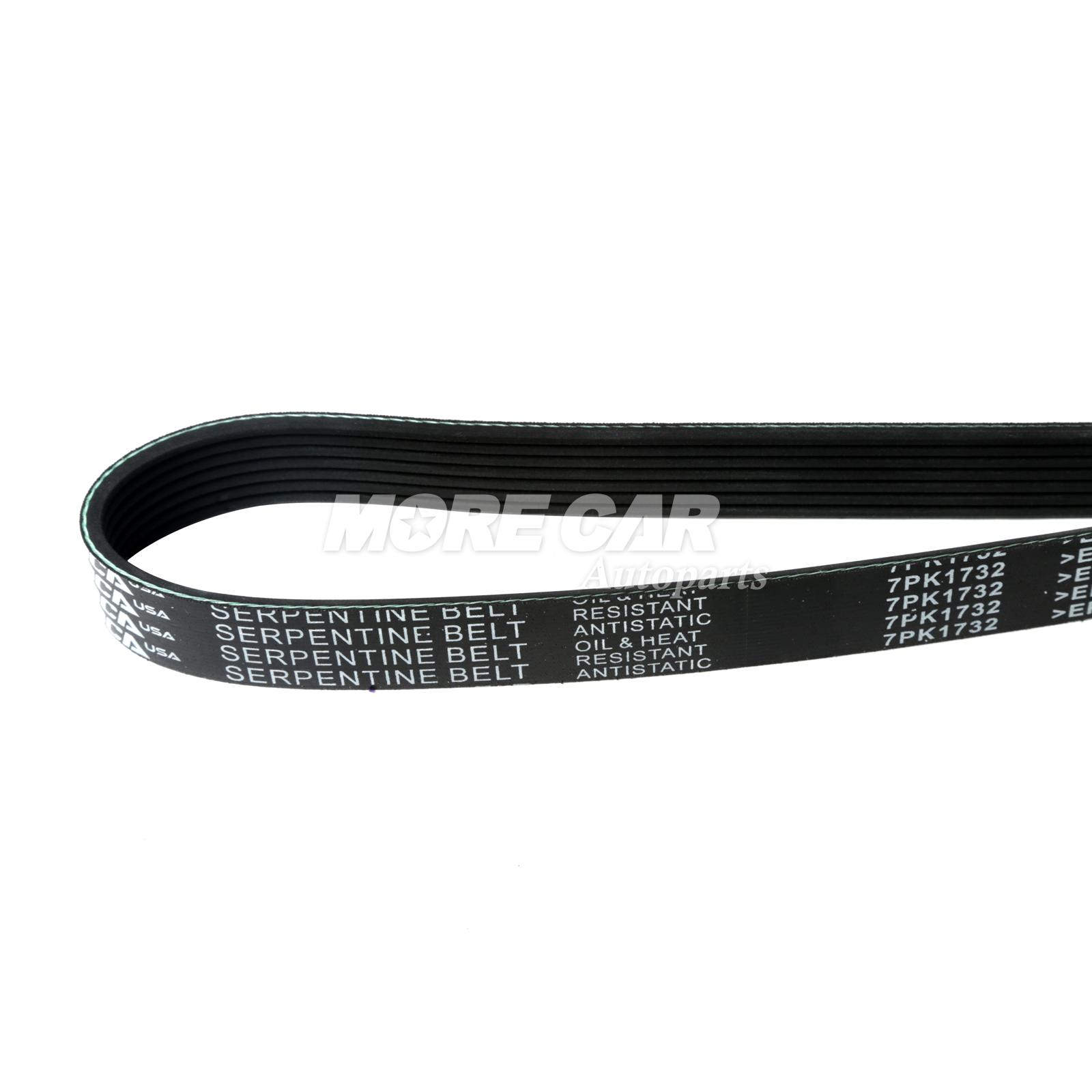 EPDM Serpentine Belt 7PK1732 Fits 02-08 Acura Dodge GAS