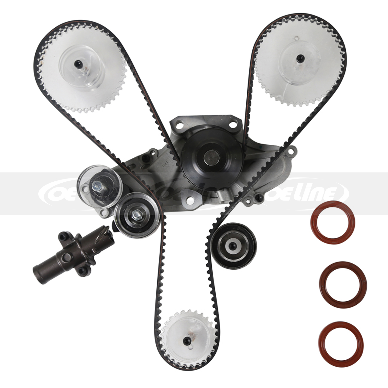Timing Belt Kit Water Pump For 03-09 Acura MDX RL Honda