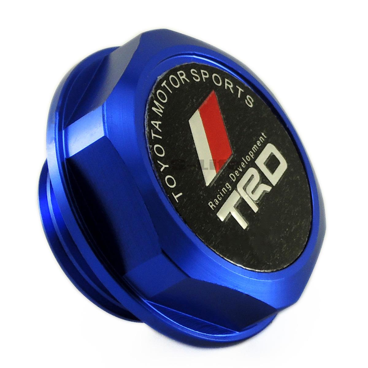 M37x3.0 Thread TRD RED Engine Oil Filler Cap Cover For LEXUS SCION For TOYOTA