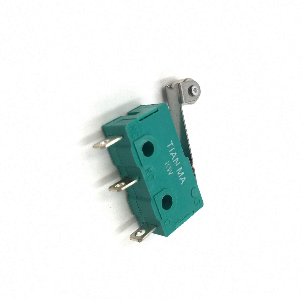 US Stock 5pcs KW4-3Z-3 SPDT NO NC Momentary Hinge Lever Limit Switch Microswitch