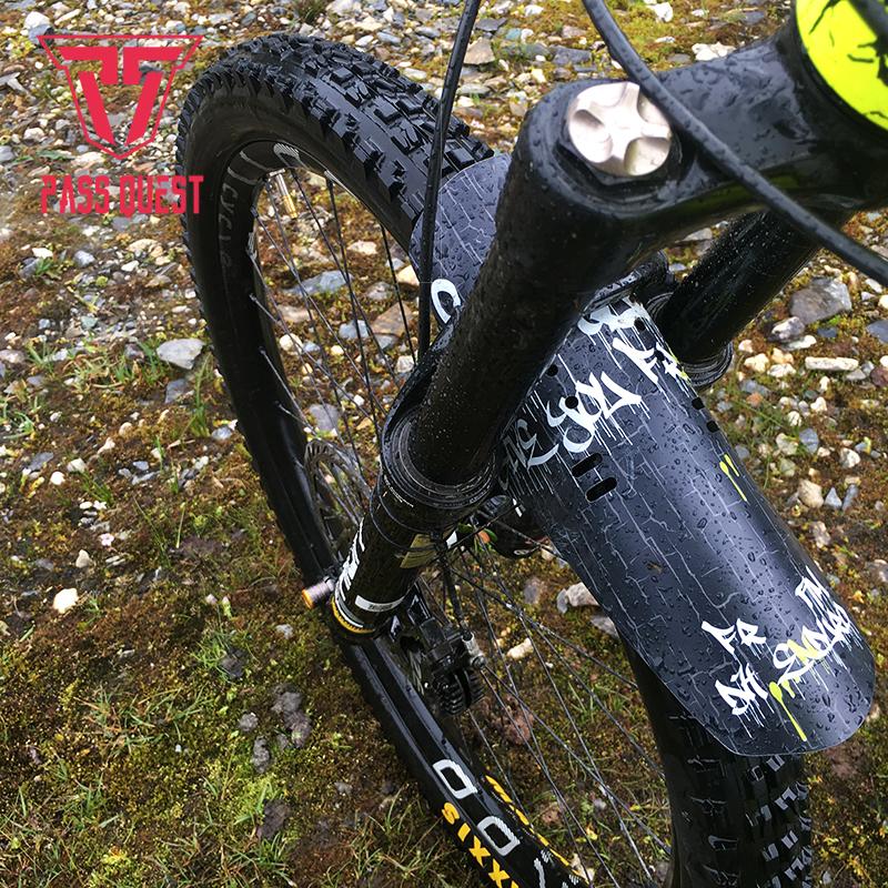 MTB Mudguard Set Mountain Bike Bicycle Fender Front /& Rear RideGuard UKMade Lime