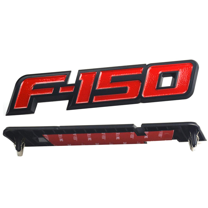 1pc OEM Black F150 Rear Tailgate Emblem Badge 3D Replacement for F-150 4L3Z16720Aa