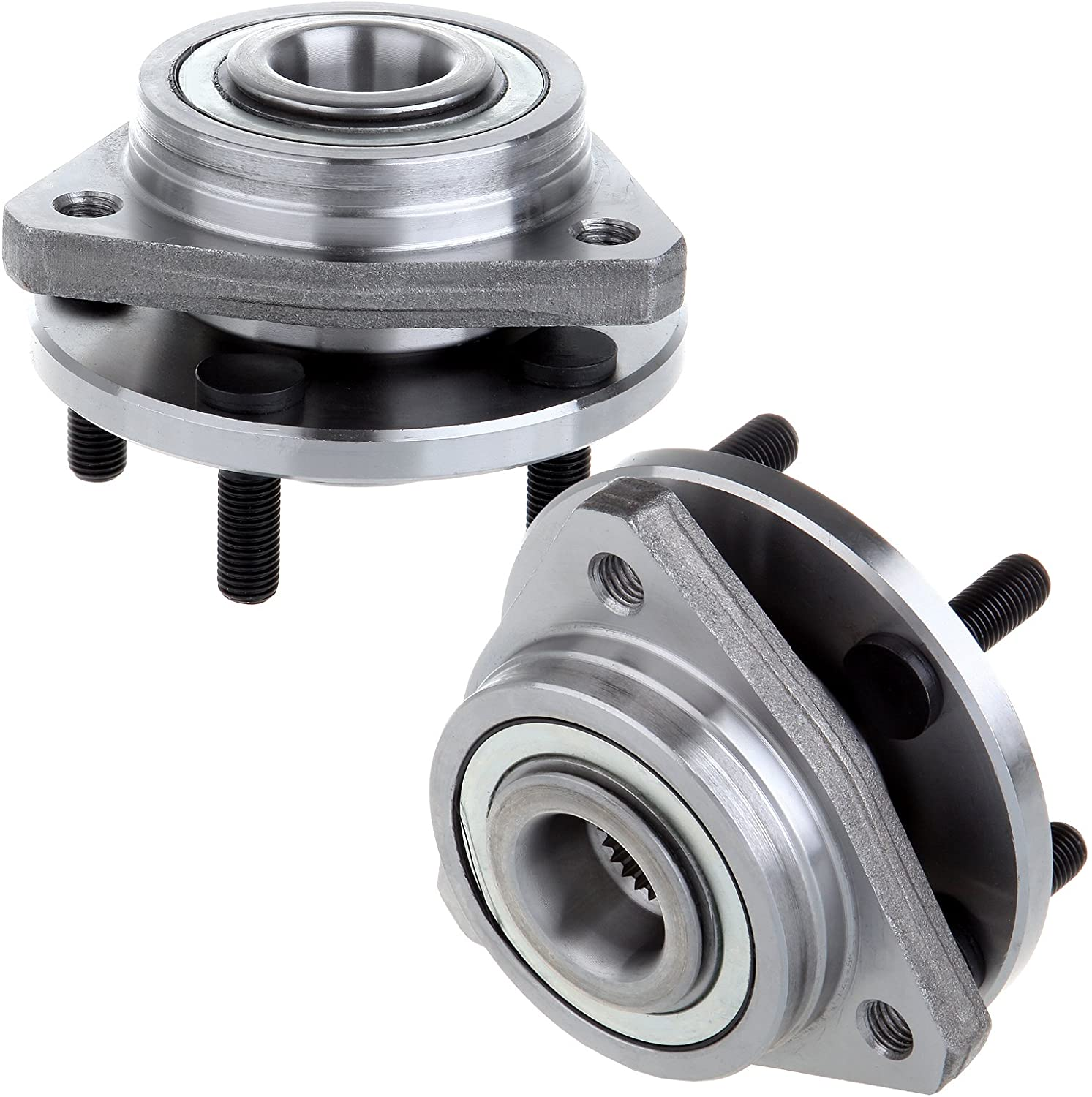 2 Front Wheel Bearing Hub For 95