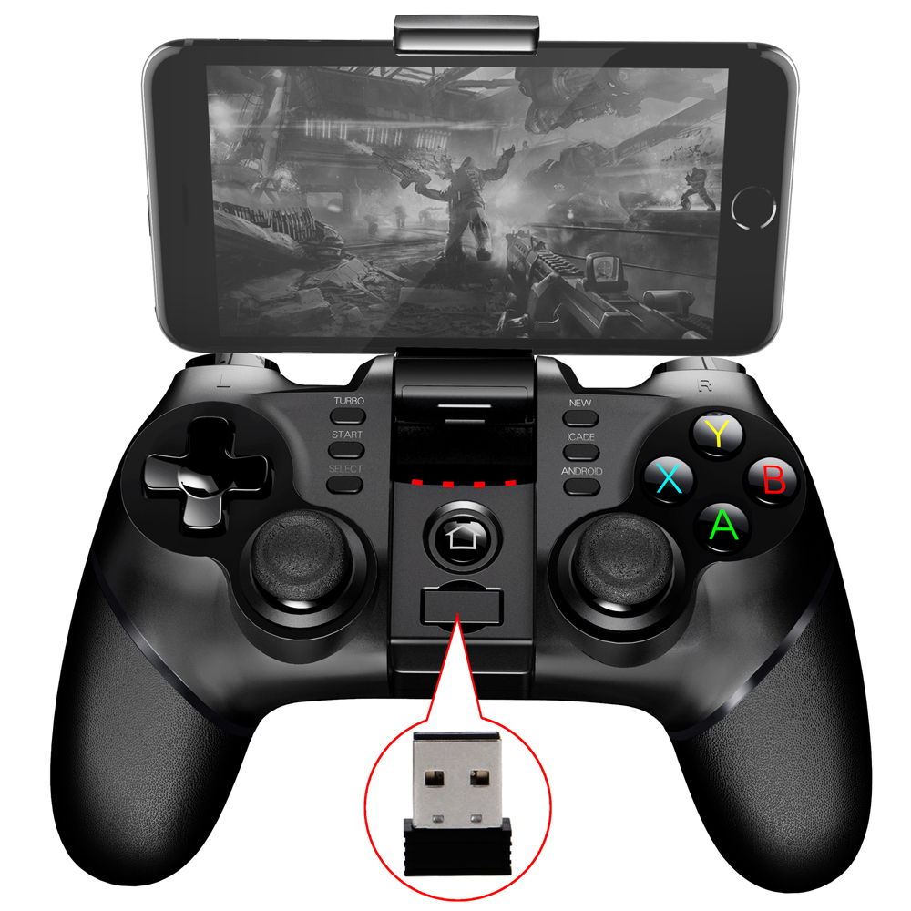 Details about IPEGA 9076 Wireless Bluetooth Gamepad Game Controller  Joystick w 2 4G Receiver
