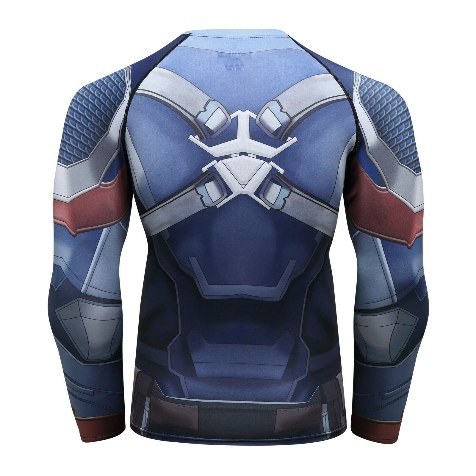 Men-039-s-Avengers-4-Compression-T-Shirts-Iron-Cosplay-Costumes-Quick-dry-Fitness thumbnail 16