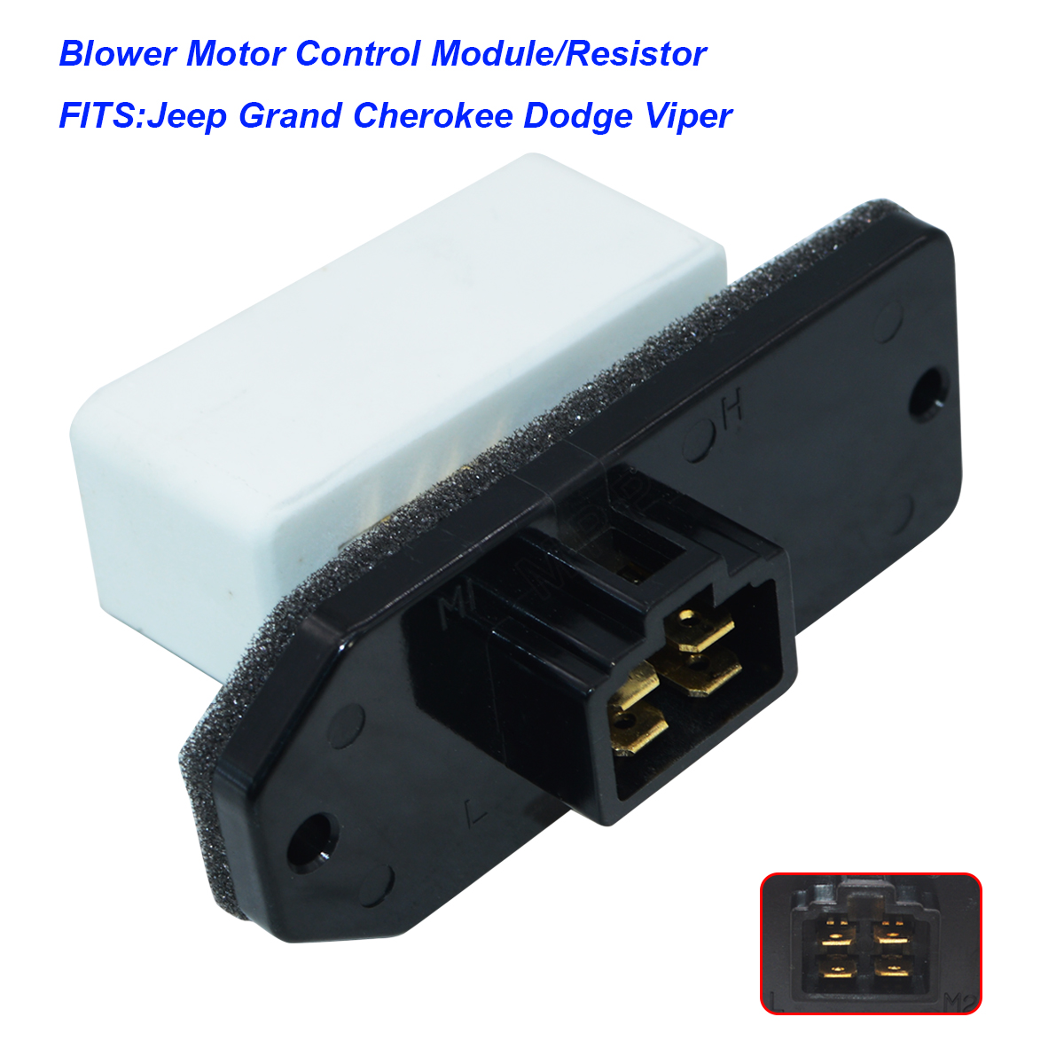 New Heater Blower Motor Resistor for Dodge Jeep Grand Cherokee RU1061  5014212AA