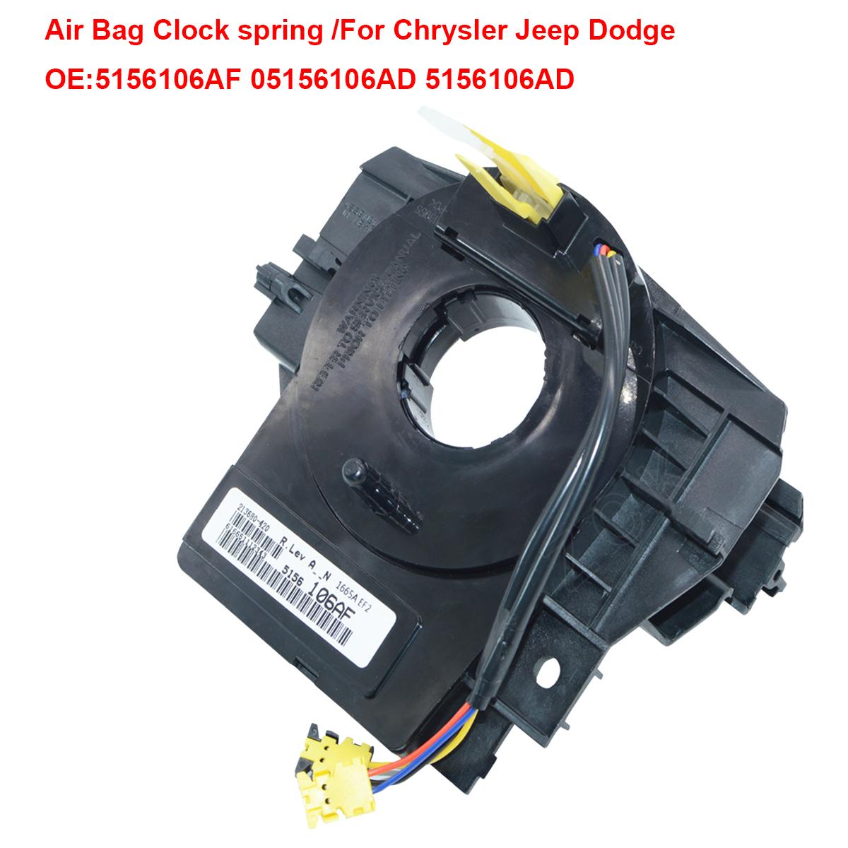 Air Bag Clockspring 5156106af 5156106ad For Jeep Patriot Compass 2008 Wrangler Clock Spring Wiring Schematic Chrysler Dodge