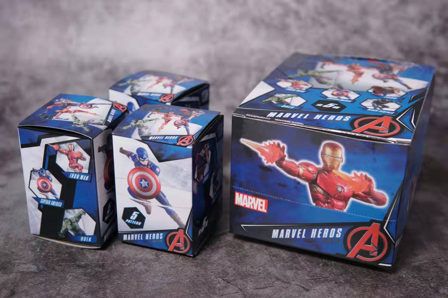 Avengers Comic Hero Panther Captain America Iron Hulk Thor Cup Accessories Toy