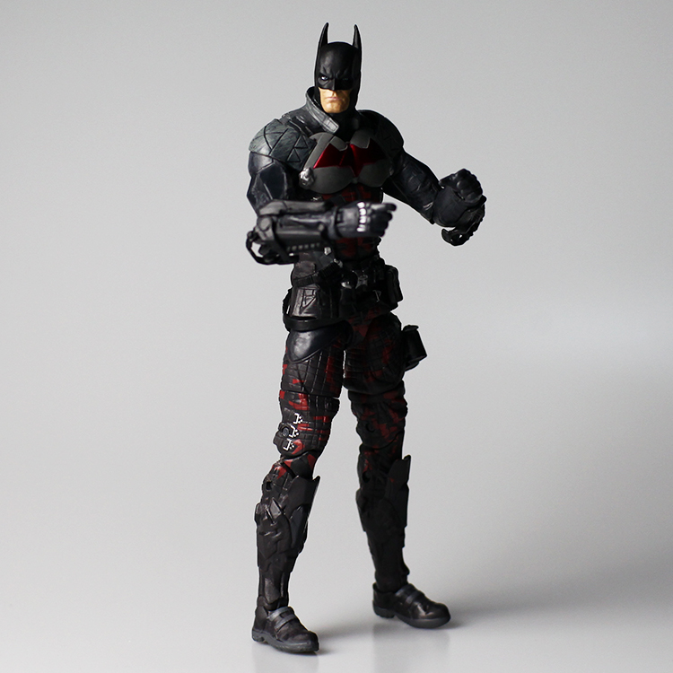 DC Batman Comic Arkham Knight Red Hood 2in1 Action Figure Robin Collection Toy