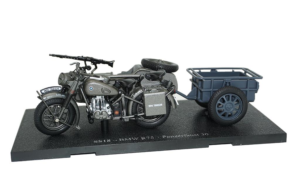 DKW rt175 año de fabricación 1952 escala 1:24 modelo de Atlas